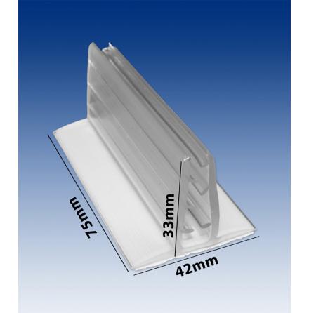 Sign grip display holder 5/75mm