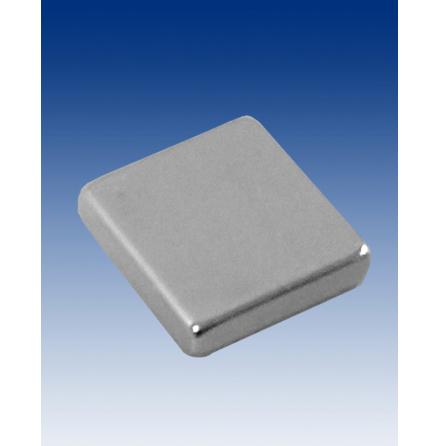 Block magnet 10x10x2 mm, handles approx 1kg