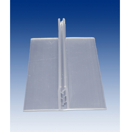 Transp. sign base 100x37x150mm, 3-6mm