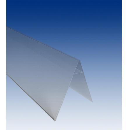 Label strip 200x70x12x55x0.4mm angled
