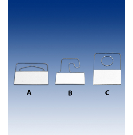 Pin-Pack holder - with adhesive