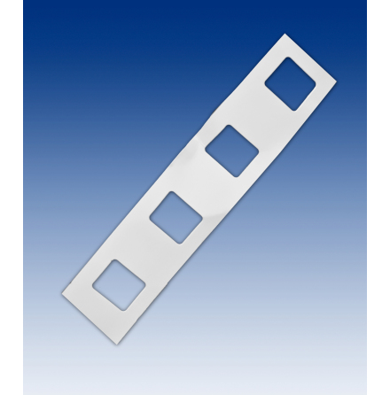Adhesive display strip