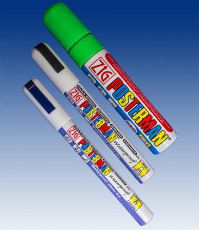 Posterman pens