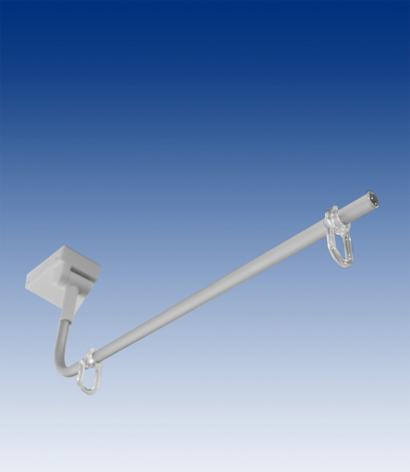 Magnet-adjustable arm