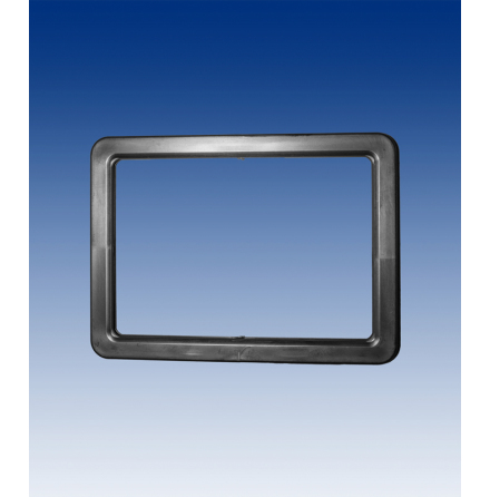 A4 frame, black horizontal