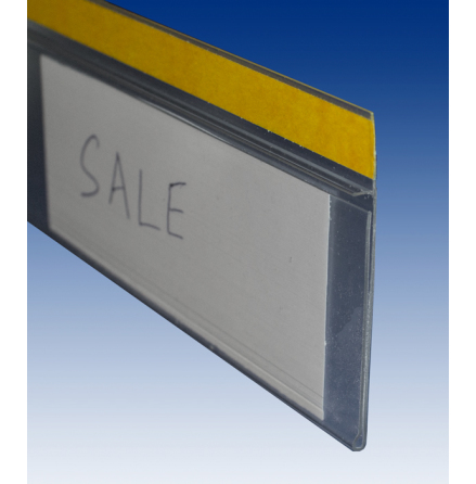 Label Holder with tape