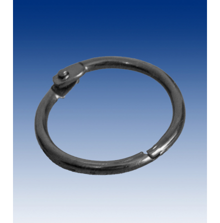 Binding ring 25mm, black