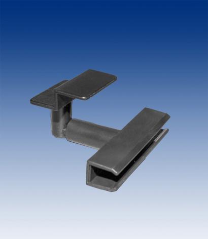 Slatwall holder for frame, black
