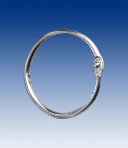 Binding ring nickel-plated