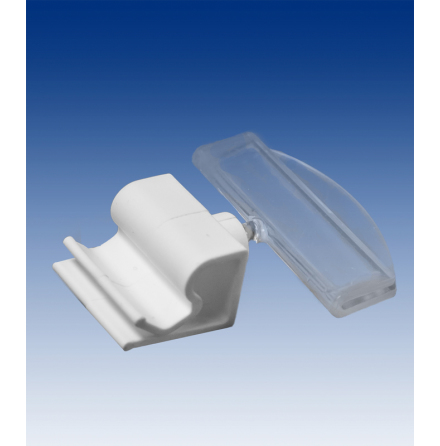 Wire & glass clip with 50mm holder