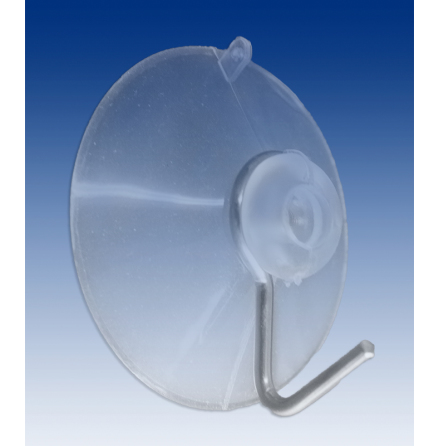 Suction cup 40mm+iron hook