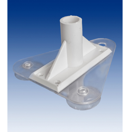 Adapter-flagpole base 90*