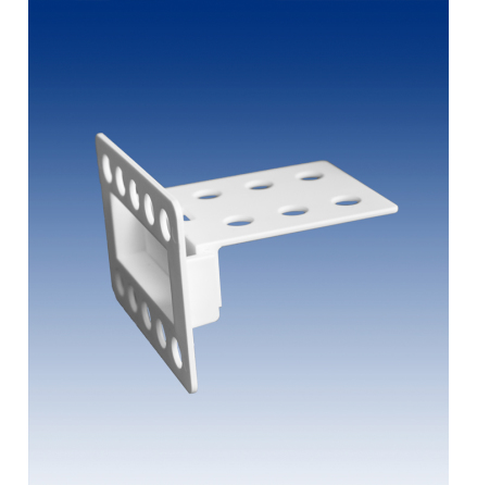 Horizontal Corr-A-Clip, white