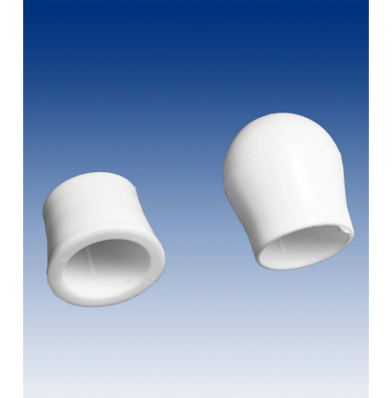 End cup-collar for flag pole