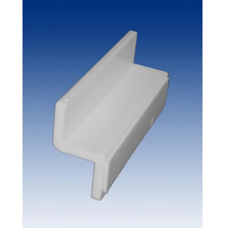 Slatwall bracket with tape 60 mm