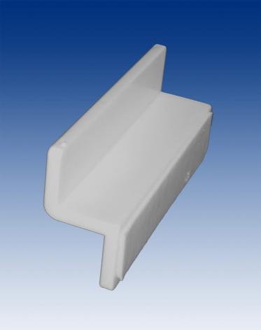 Slatwall bracket with tape 60mm